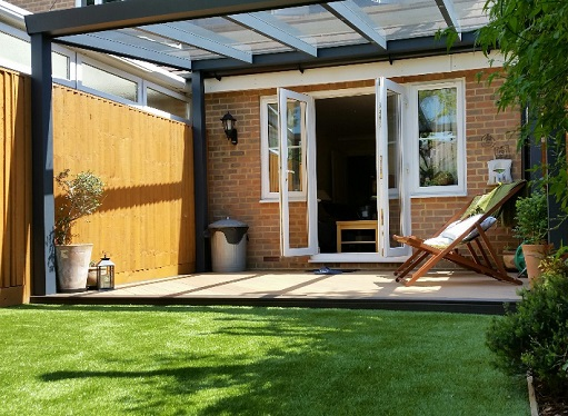 when you add a veranda or garden room to your property the garden can be used all year round - How To Add Value To Your Home