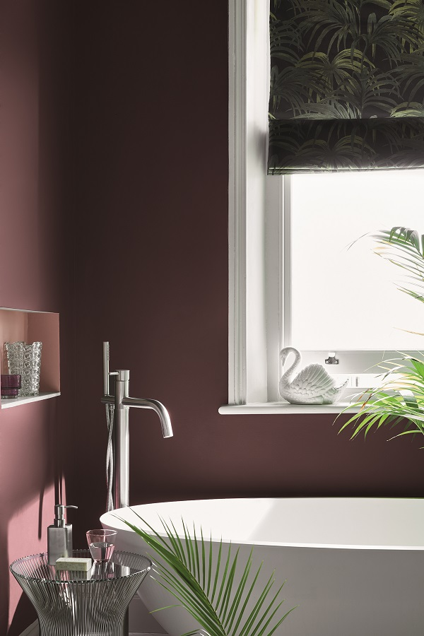 Wall: Córdoba 277. Inset Shelf: Blush 267. Window Sill: Loft White 222