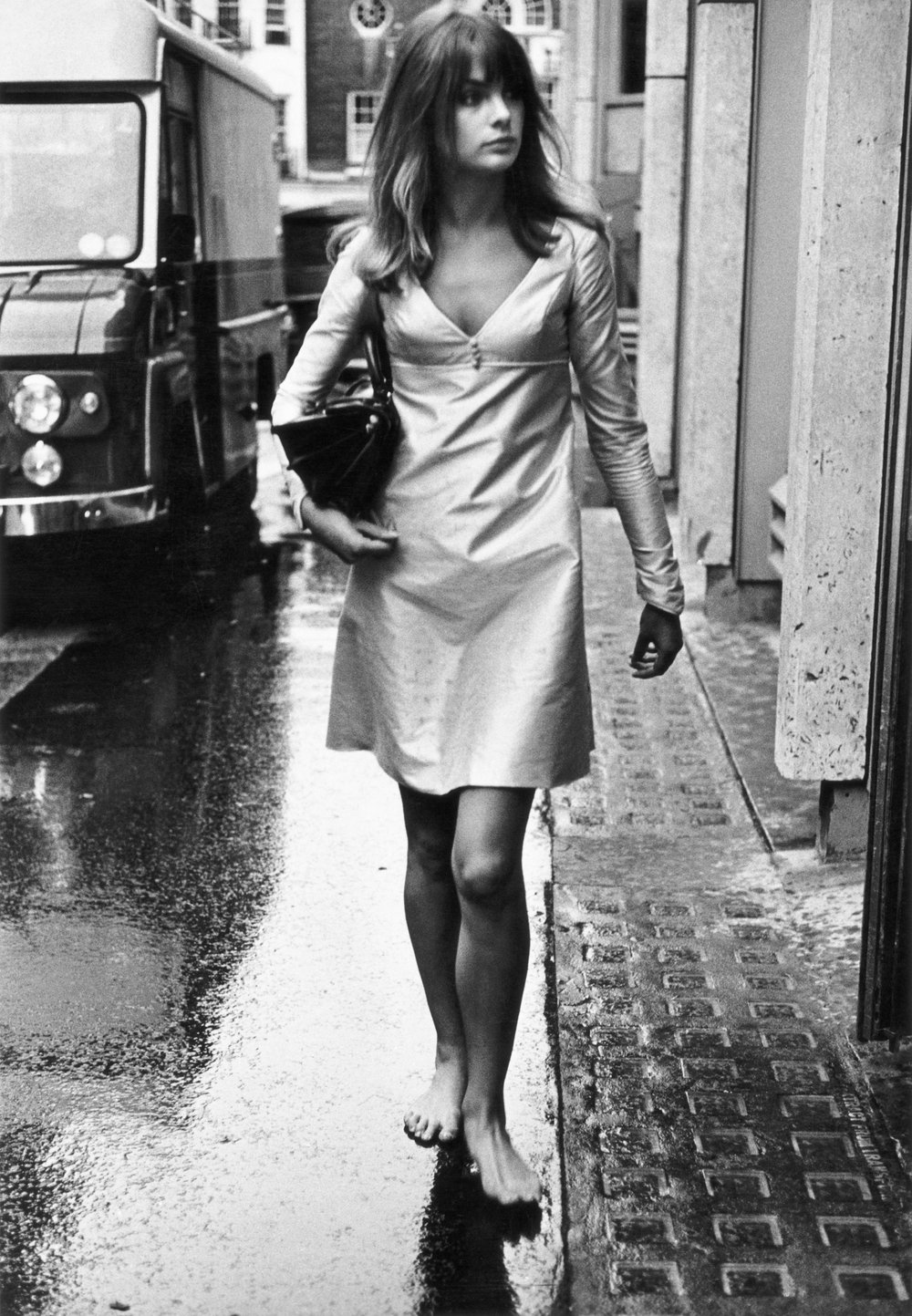 Jean Shrimpton, King's Road in Chelsea, London, 1963 (c) Iconic Images Terry O'Neill