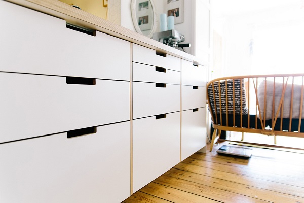 Bespoke Plywood Doors for IKEA Kitchen Cabinets — Heart Home