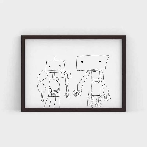 Artist ‣ Dominic Age ‣ 5 Title ‣ Bots  Location ‣ Perth Australia