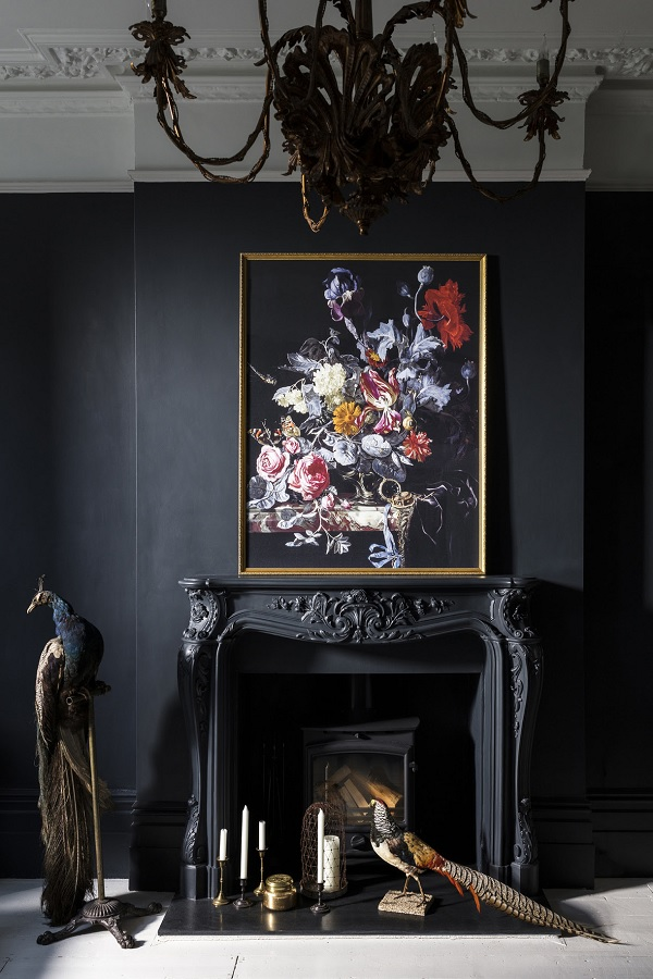 A Vase Of Flowers With A Watch Framed Print By Willem Van Aelst, from the Ashmolean Collection