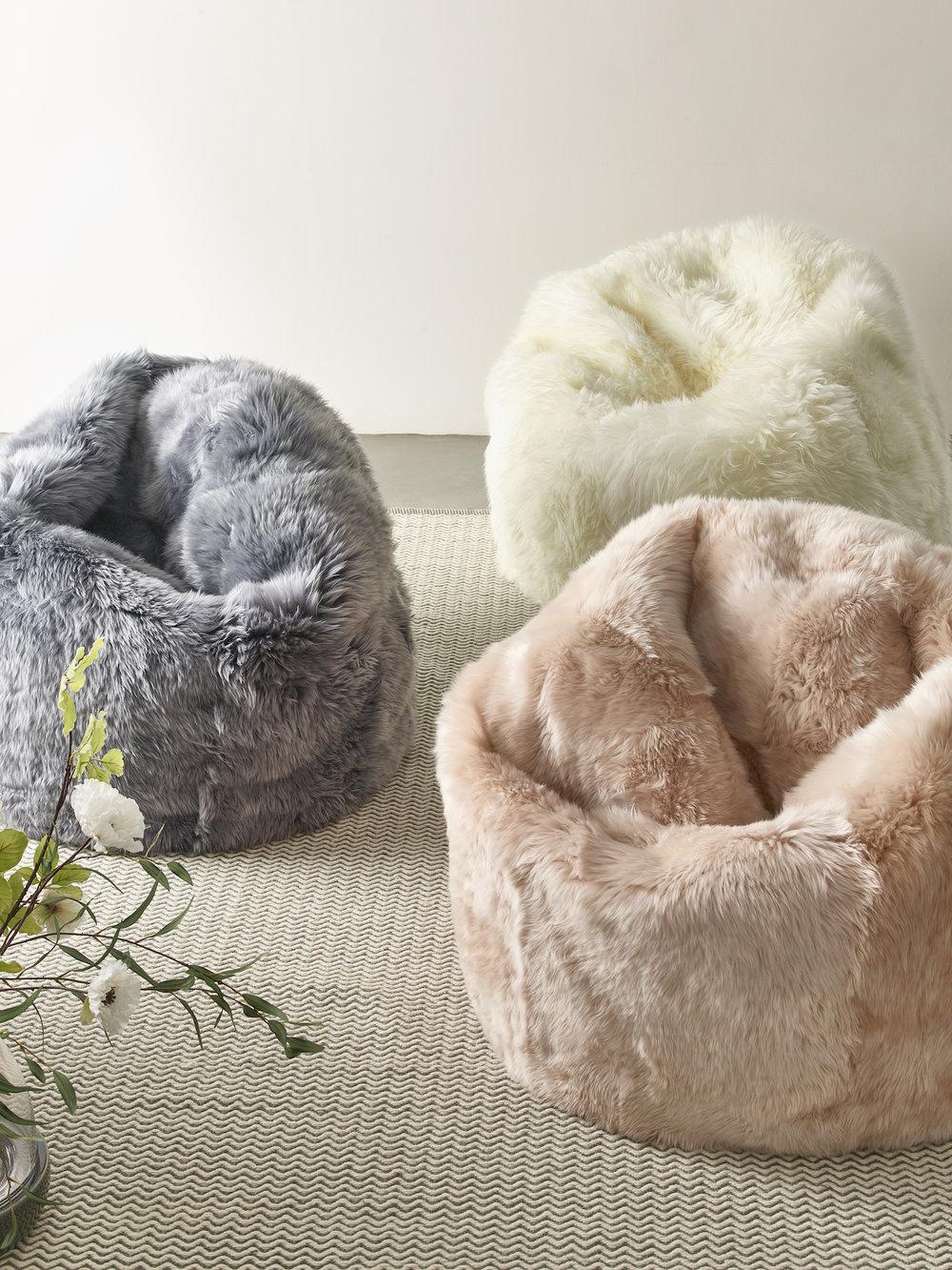 www.coxandcox.co.uk Sumptuous Sheepskin Beanbags HERO Grey H-BEANSHEPGRY Blush H-BEANSHEPBLUS Ivory H-BEANSHEEP £800.00.jpg