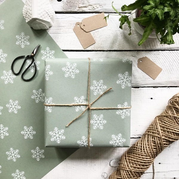 Snowflake Wrapping Paper, £4.99