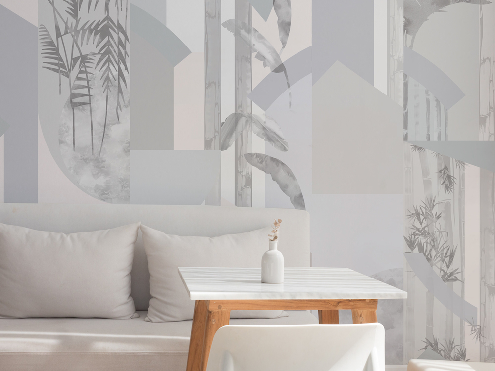 Bespoke Atelier Glasshouse Dusk Rise Wallpaper.