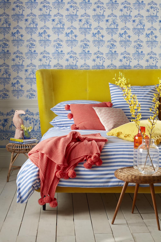 [Secret Linen Store] Sophie Stripe bed linen set (1), £14-115.jpg