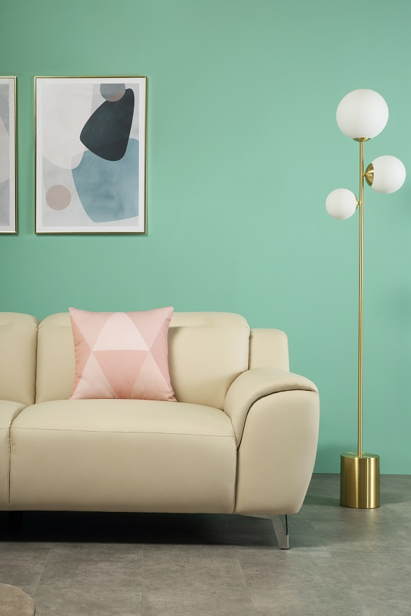 Finley Ivory Three Seater Sofa, £549.99 from Furniture Choice