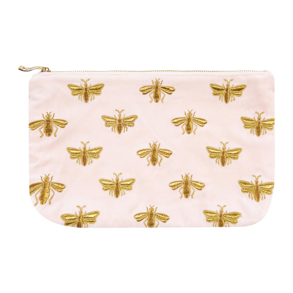 Elizabeth Scarlett Amara x ES Bee WashClutch Bag - Rosewater  145489 (2).jpg