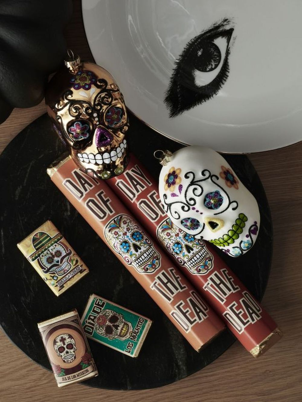 John Lewis & Partners Day of the Dead 85G Bar £2.50, Day of the Dead 7pk Slims £3.50.jpg