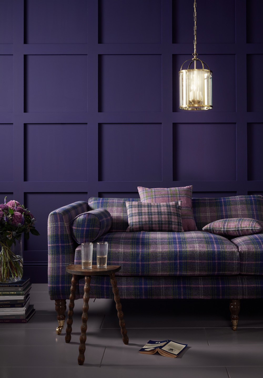 Moon National Trust Collection in Purple, from £60.95 per m2