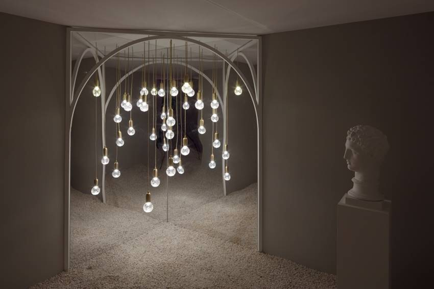 Crystal Bulb Pendants