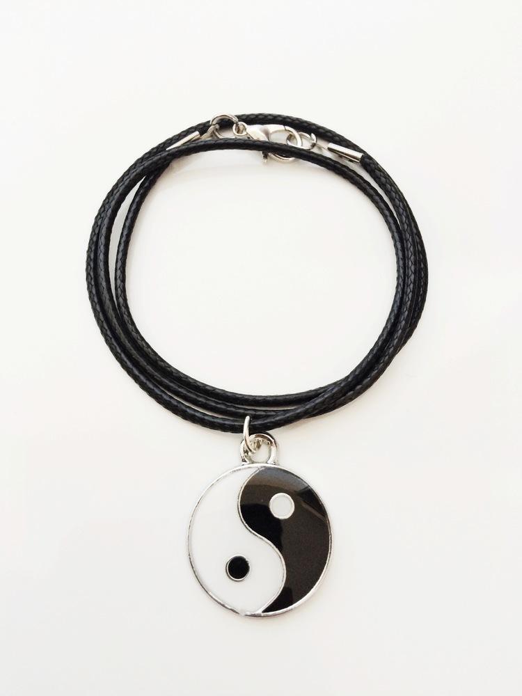 Yin yang necklace northern dash yin yang necklace aloadofball Choice Image
