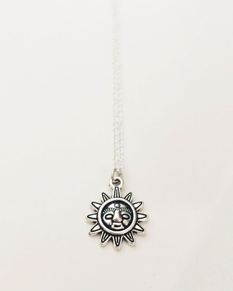 Bindi sunflower necklace northern dash bindi sunflower necklace aloadofball Image collections