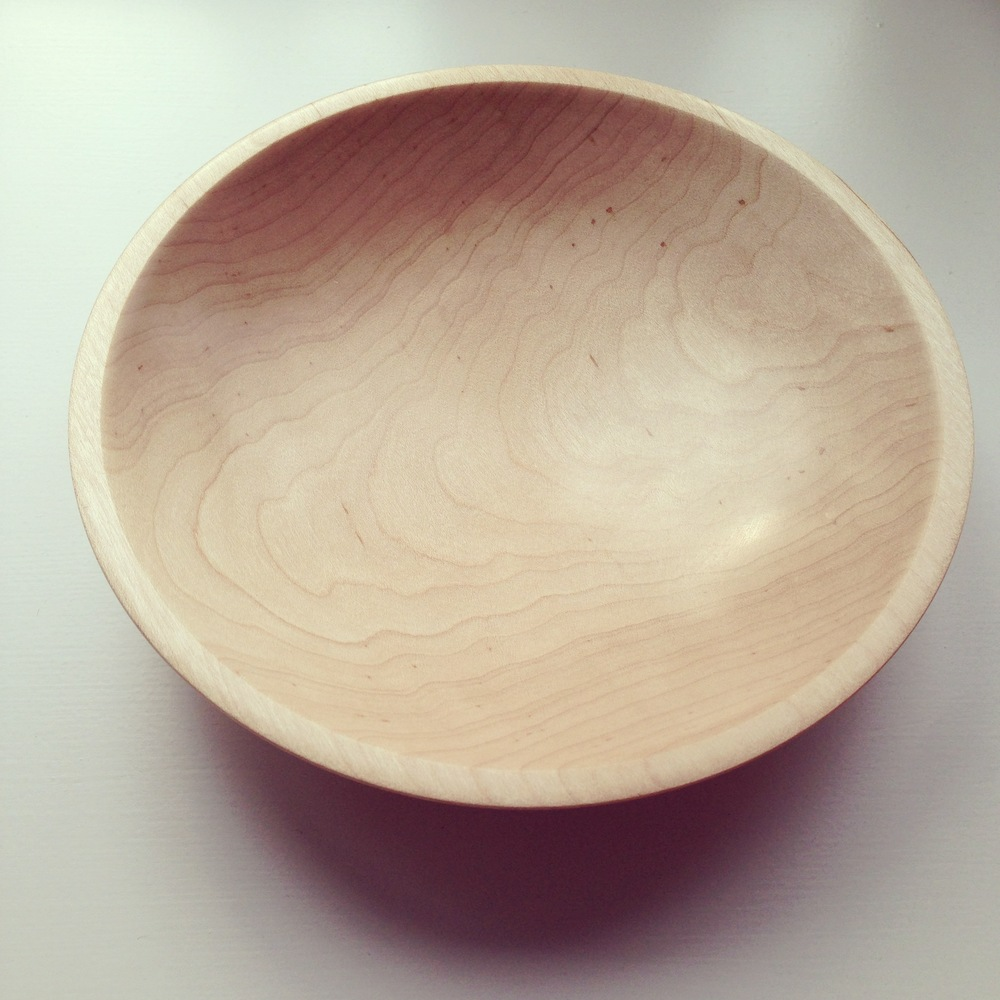 Bowl, Canadian Maple