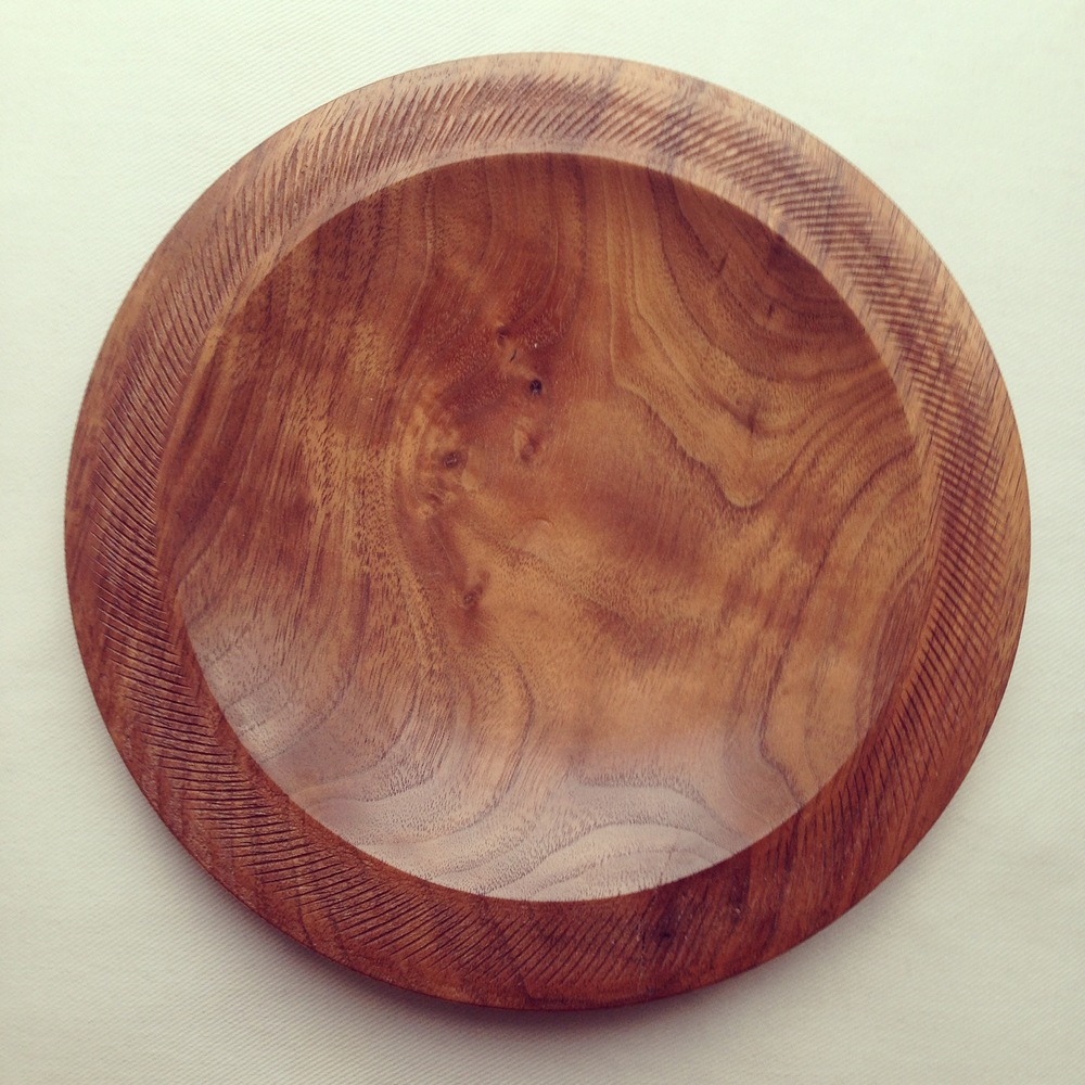 Platter, Black American Walnut