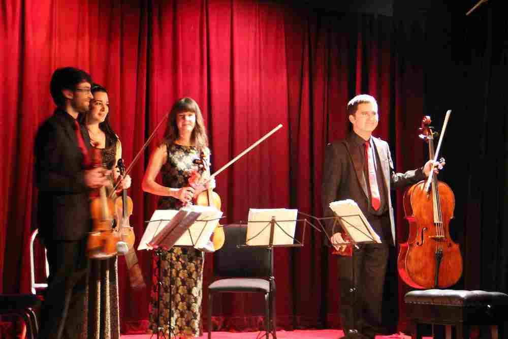 The Santiago String Quartet at West Wight Arts Association