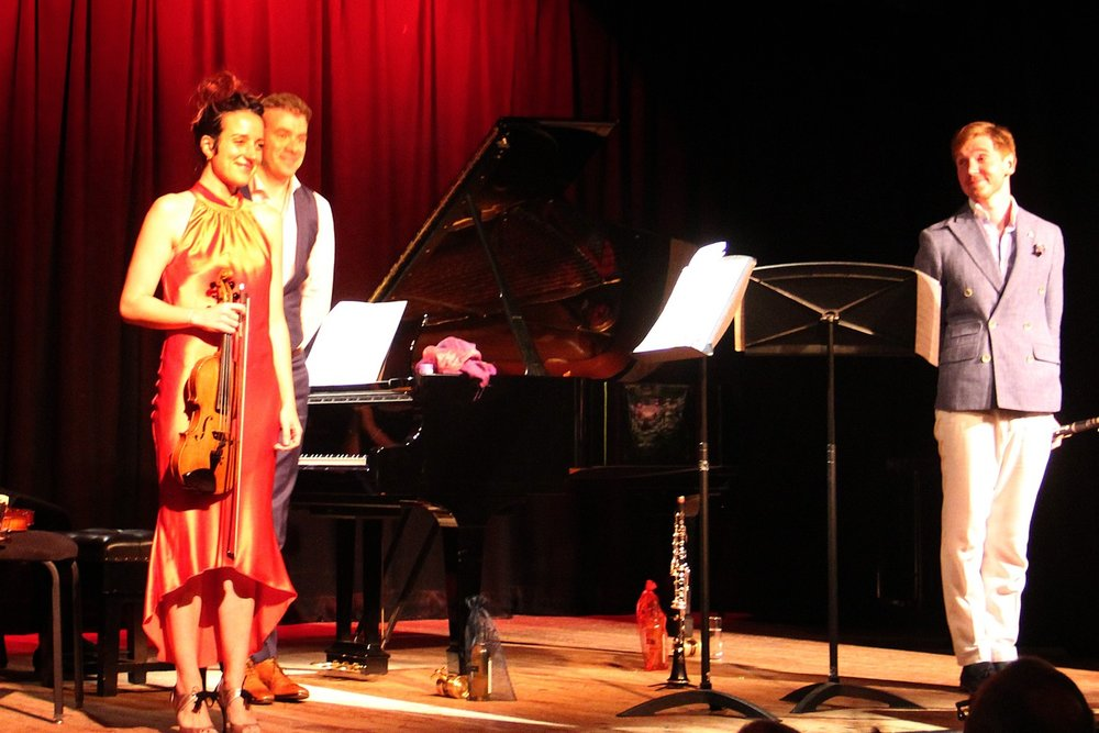 ff688a9815 The new season of the West Wight Arts Association opened last Saturday in  style with a concert by the Trio Ducasse, not the regular trio formation of  piano, ...