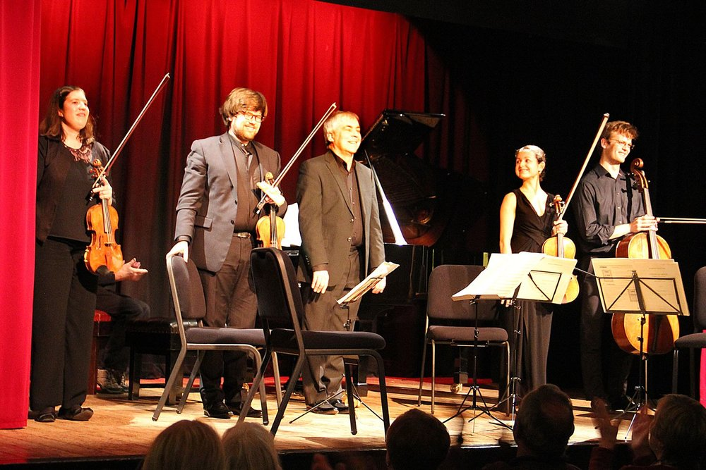 Castalian String Quartet with Michael Dussek, piano
