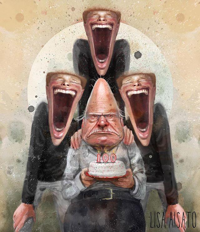 «Det er ikke sant at en god latter forlenger livet. [...] Det lille som er av langsiktig forskning på området tyder på at det faktisk er de minst muntre (i alle fall i andres øyne) som lever lengst.» ————————————————— Psykolog Pål Johan Karlsen stiller spørsmålstegn ved sammenhengen mellom latter og et langt liv i helgas @dbmagasinet . Hvis du ler av dette bildet kan jeg ikke garantere deg noe lenger liv, men ler du ofte får du kanskje et litt lysere et 😊.