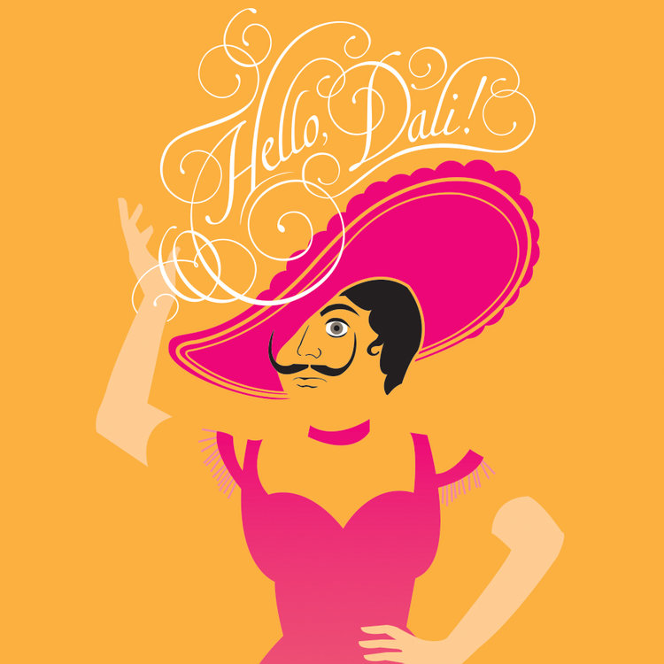 Salvador Dali Hello Dolly Mashup