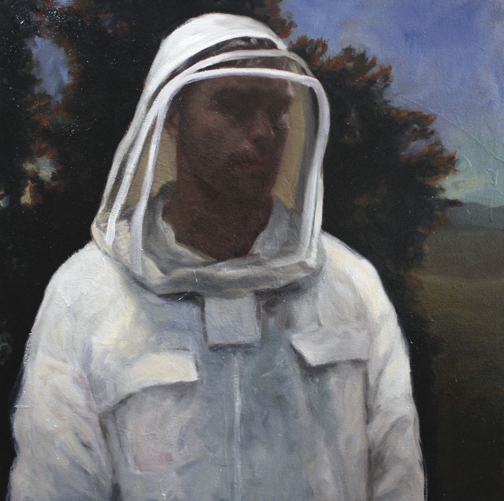 Self-Portrait as a Beekeeper