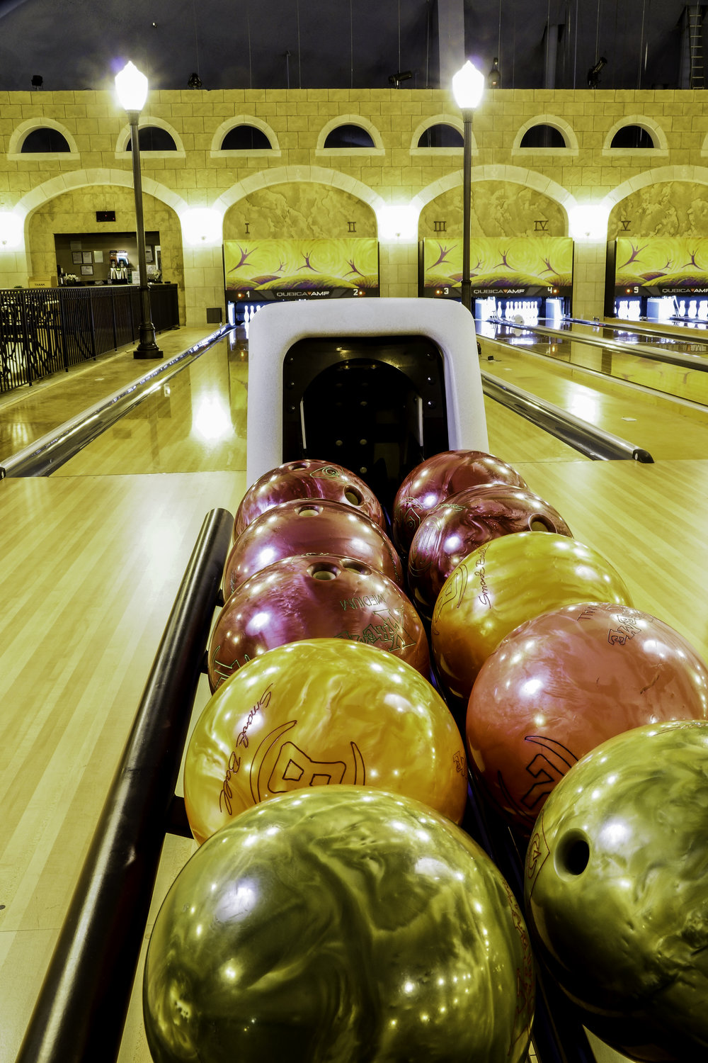 Tuscany Lanes  & Cafe      Twelve-lane, state-of-the-art bowling alley with a top-notch cafe that rivals the best in the city.
