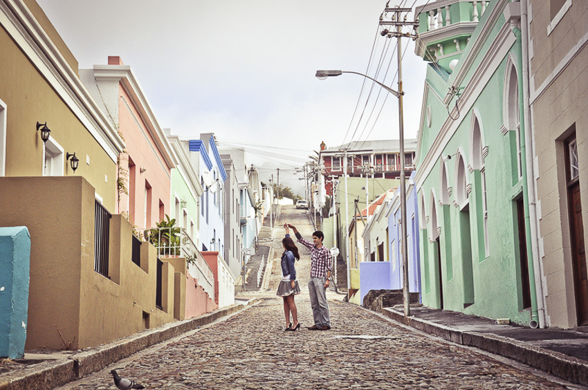 Wes Cath Engagement Shoot Photography Bo Kaap