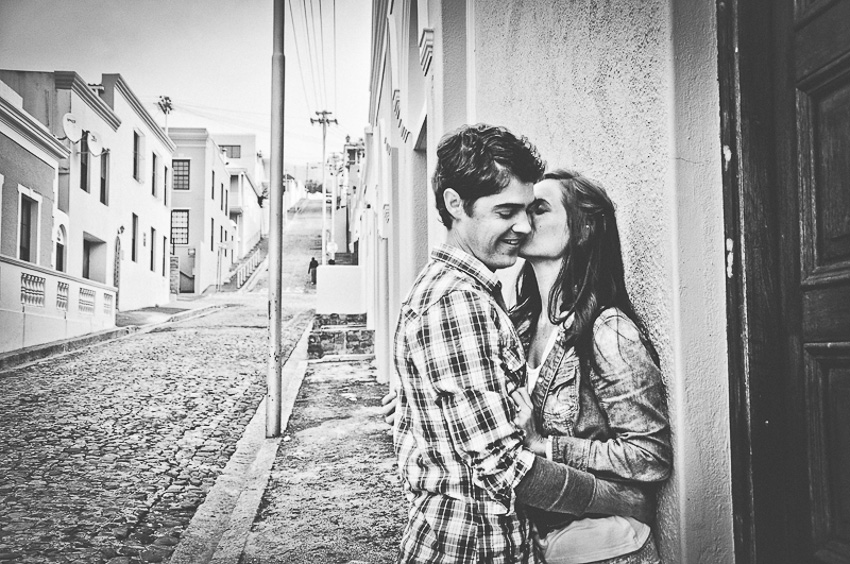 Bo Kaap Engagement Shoot Wes Cath Photography