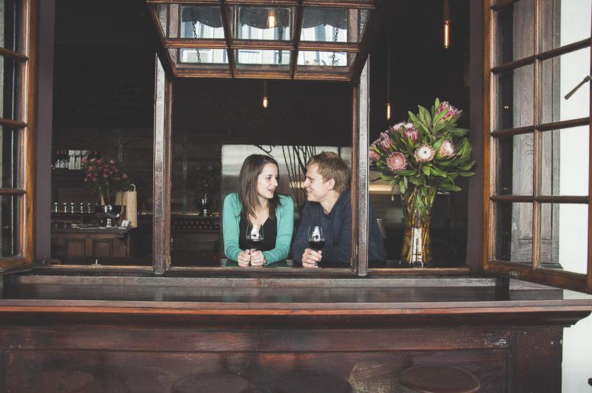 Stephanie Kannas Engagement Shoot Stellenbosch Photography