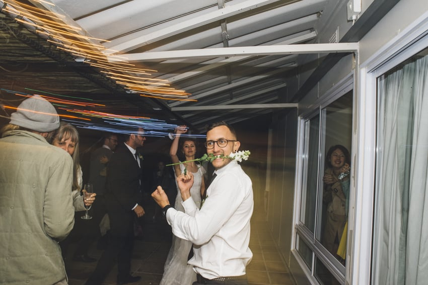 YeahYeah Wedding Photography Richard Leila Reflections Guest Far