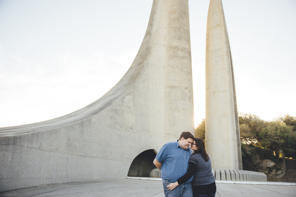 Yeahyeah Photography Paarl Taal Monument Nathan Michelle Engagem