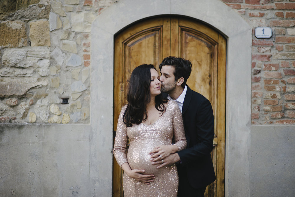Italy Tuscany Maternity Couple Shoot Yeahyeah Photography Lidia