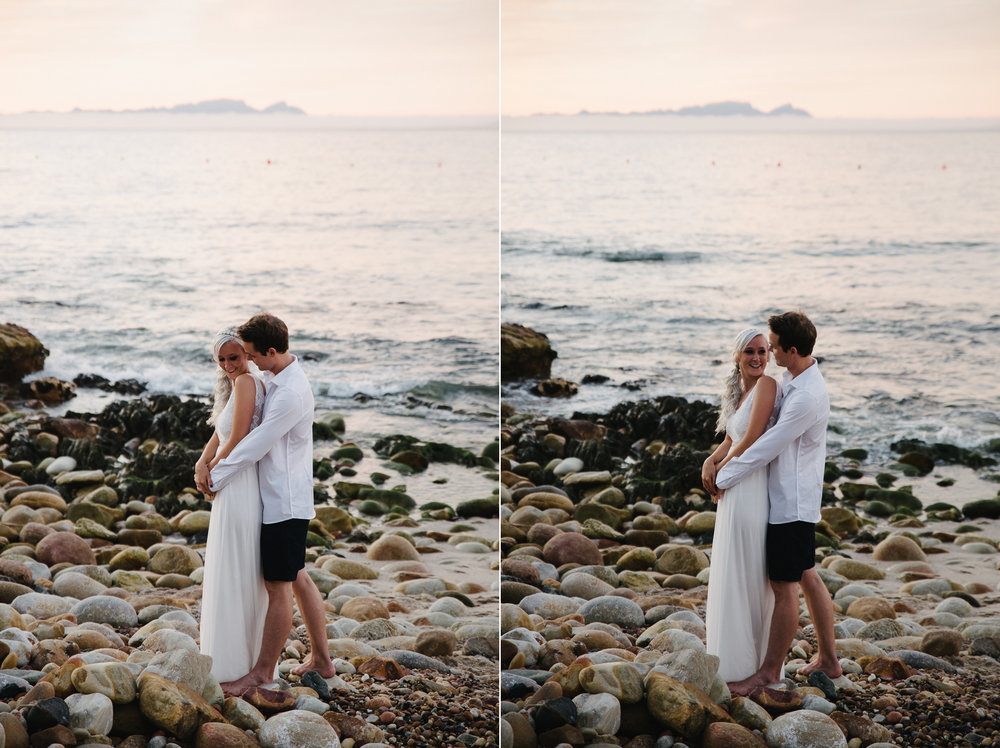Andrew Abigail Couple Shoot Gordon's Bay Beach Yeahyeah Photogra
