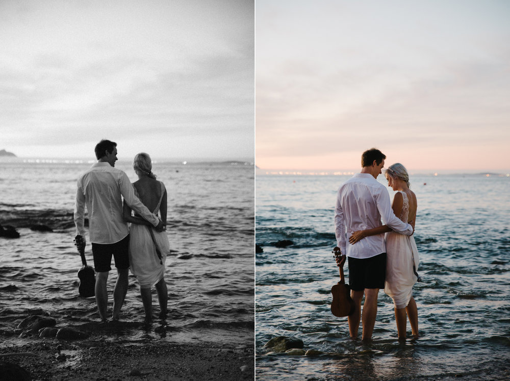 Couple Shoot Gordon's Bay Beach Yeahyeah Photography Andrew Abig
