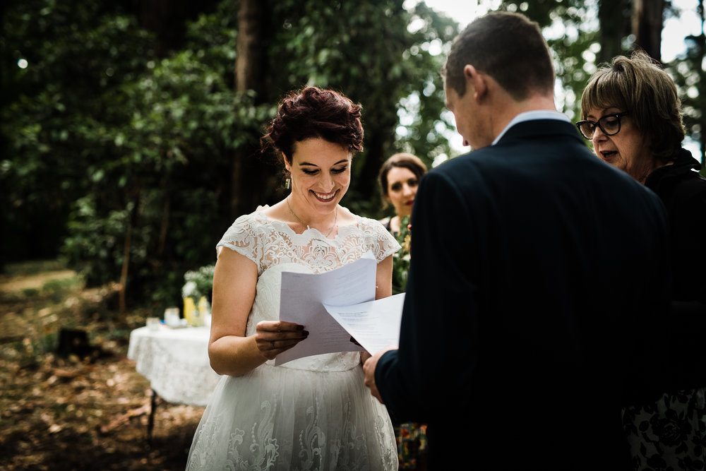 Forest DIY wedding_Lee and Steve_Ferny Creek reserve_-36.jpg