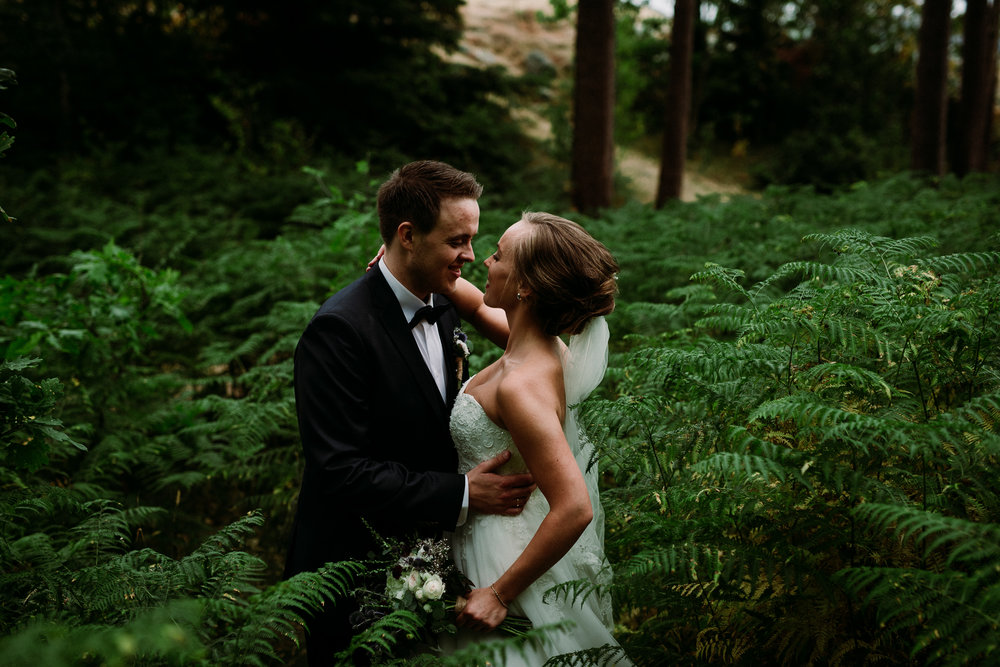 Bryllup i løen på Sunde. Bryllupsfotograf i Stavanger