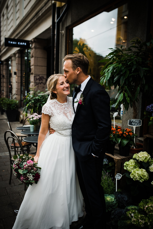 Bryllup i Uranienborg kirke. Bryllup Kleivstua.