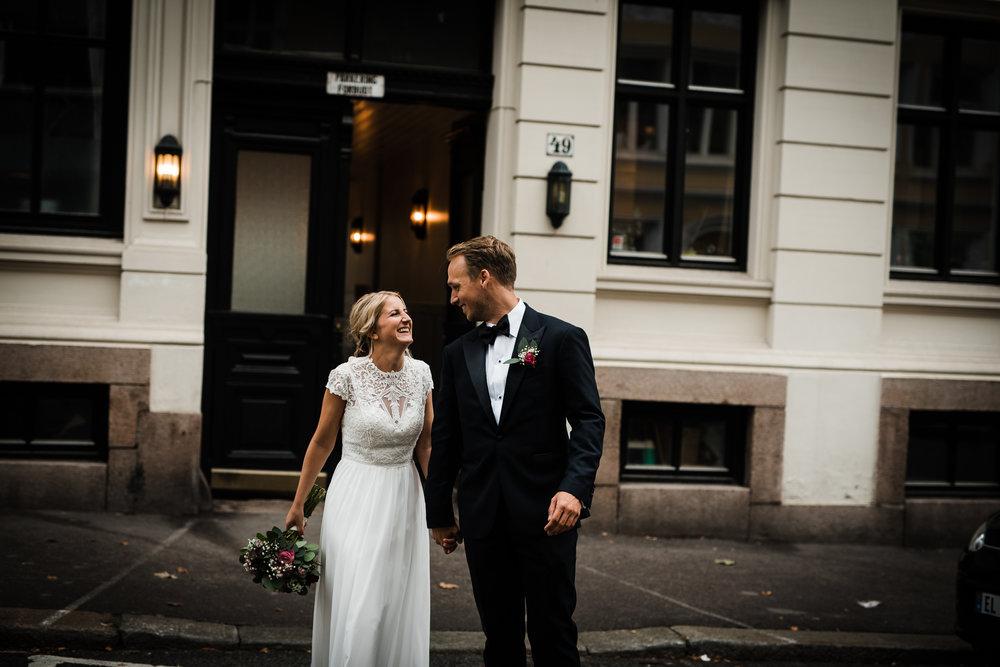 Bybryllup i Oslo. Bryllup på Frogner