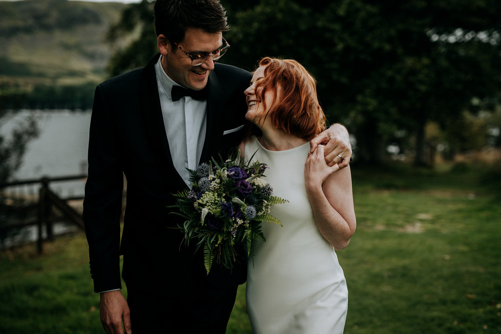 .... Wedding photographer in The Lake District .. Bryllup i The Lake District, England ....