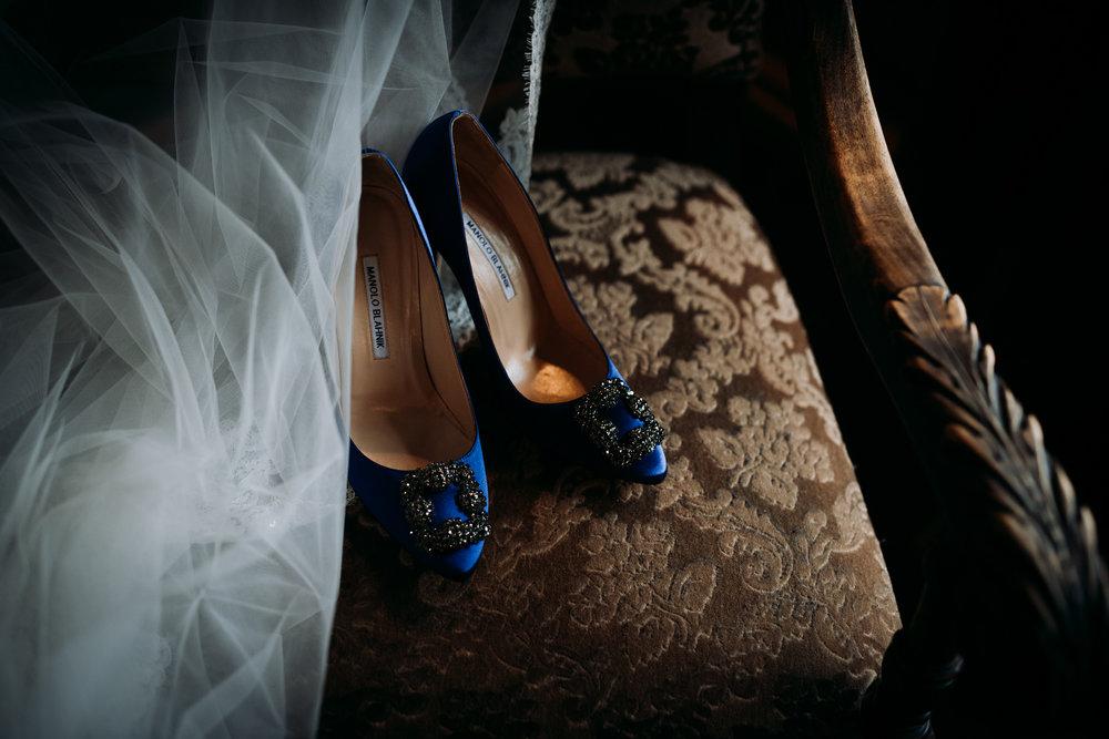 Blå brudesko. Bryllup på Hafjell