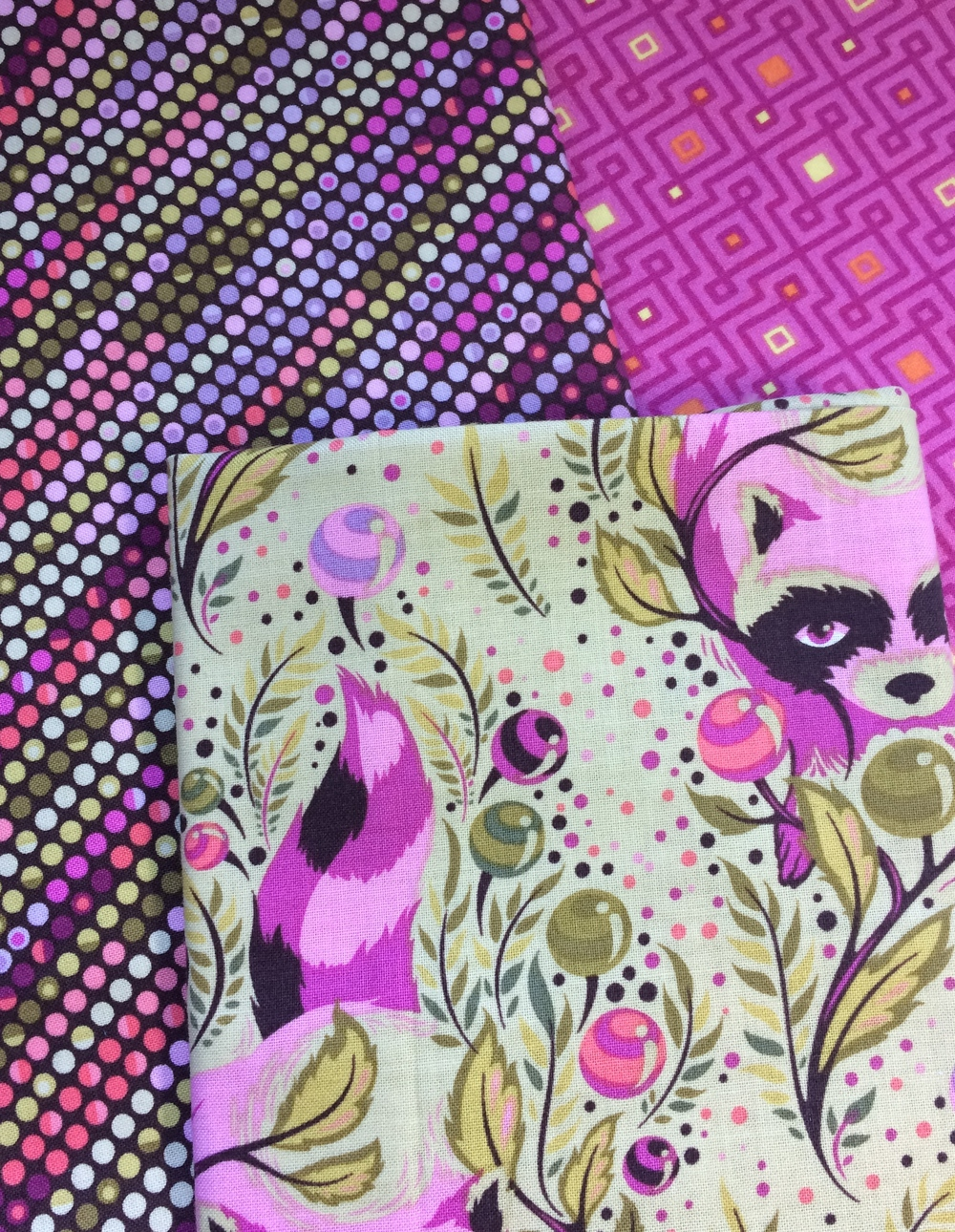 I love this Tula Pink fabric, but I struggle to use it!