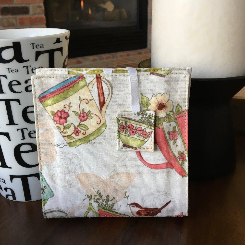 Tea Time Tea Wallet - Front