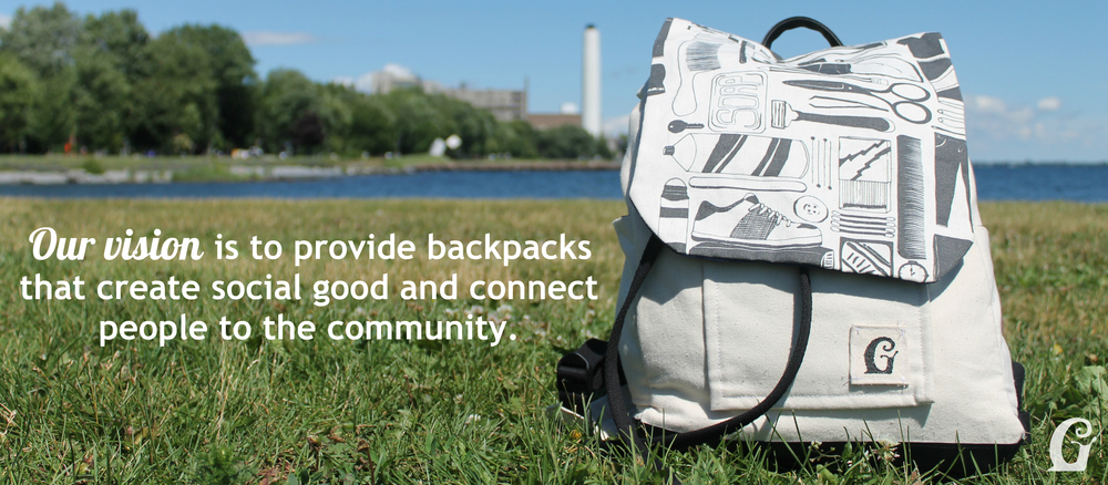 Givway & Co. Backpacks - Our Vision