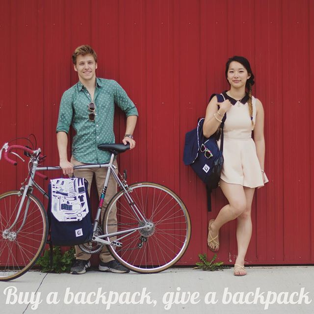 2 more days until the Ontario backpack is released at www.givwayandco.com! For every backpack purchased a partner backpack is donated to a person in need through a shelter in Ontario. #OntarioGC #givwayandco