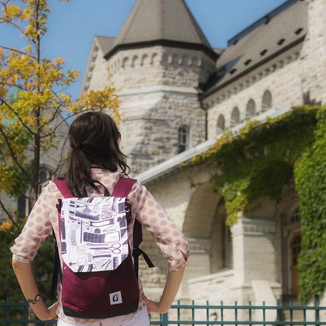 One more sleep until the Ontario backpack is available at www.givwayandco.com! #OntarioGC #GivwayandCo
