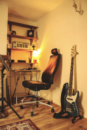 Jan 2016 Practice Space at Home.