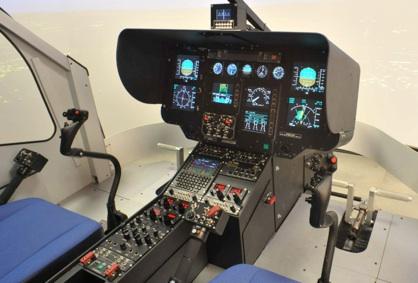 simulatore elicottero