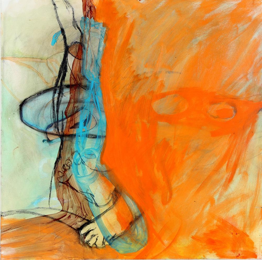 Legs in Orange