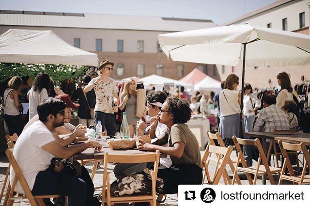 Lost&Found Market el pasado fin de semana en @condeduquemadrid  #lostfoundmad #lostfoundmarket #vintage #segundamano #mercado #condeduque #madrid