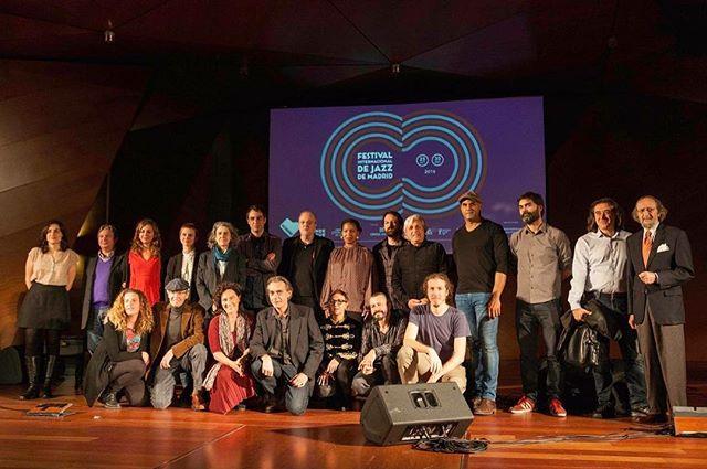 Organizadores, colaboradores y artistas presentando el Festival Internacional de Jazz de Madrid #JAZZMADRID Del 25 de octubre al 30 de noviembre ¡Comenzamos! 🎷🎺🎸🎶 Foto: Madrid Destino #condeduque #fernángómez #jazz #madrid #música #festival #conciertos #cine #debates #exposición #lanocheenvivo